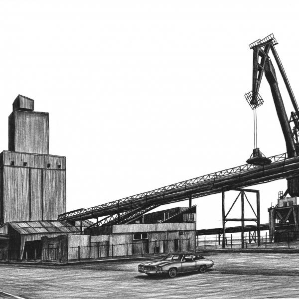docks à Lorient